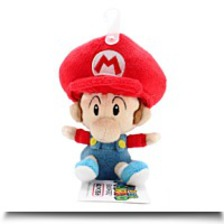 5 Official Baby Mario Soft Stuffed Plush
