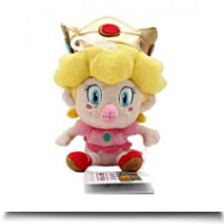 5 Official Baby Peach Soft Stuffed Plush