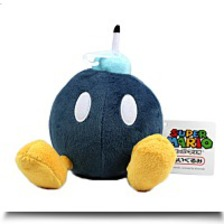 5 Official Bobomb Soft Stuffed Plush
