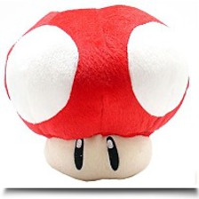 Brothers Red Mushroom 8INCH Plush