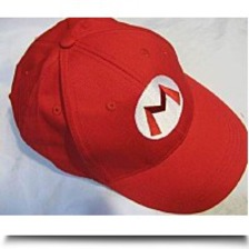 Mario Bro Red Baseball Cap Mario Hat