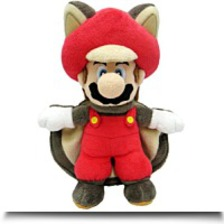 Super Mario 9 Squirrel Musasabi Mario
