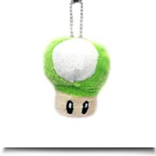 Specials Super Mario Bro Green Mushroom Plush
