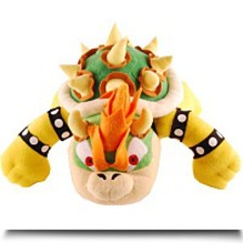 Super Mario Bros 10 Bowser Plush Doll