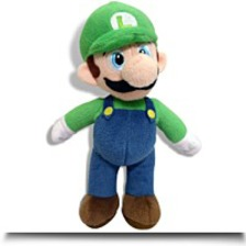 Super Mario Brothers Luigi 10 Plush Toy