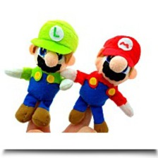 Specials Super Mario Brothers Plush Mario Luigi