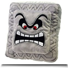 Buy Super Mario Plush Cushion Series Thwompdossun