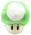 super mario brothers green mushroom plush