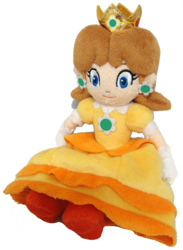 Super Mario Princess Daisy Plush Doll